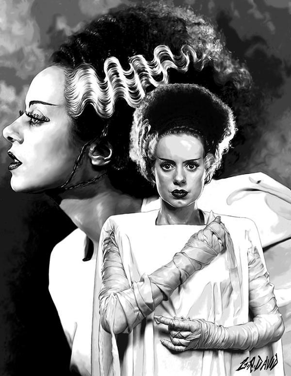 Monsters - Bride of Frankenstein by GRDavid