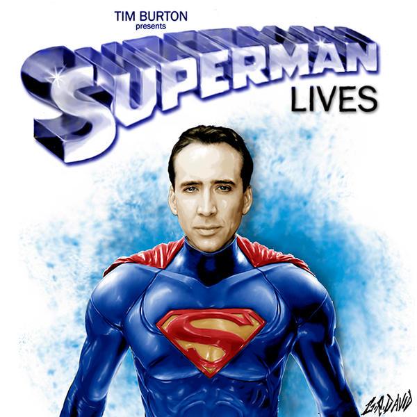 Superman Lives by GRDavid