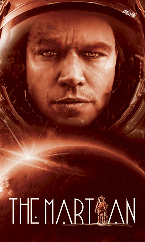 The Martian by GRDavid