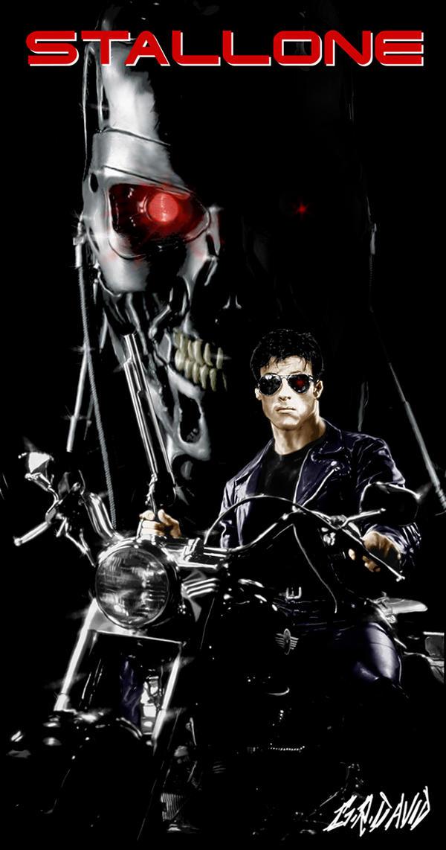 Stallone is Terminator by GRDavid