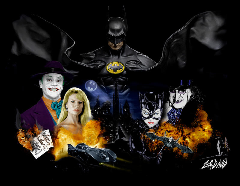 Batman Tribute by GRDavid