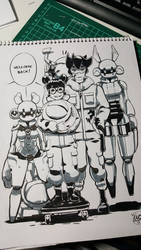 Welcoming [Pen Test] by level5pencil