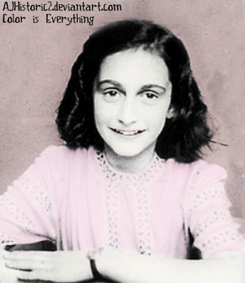 the diary of anne frank essay test on theme