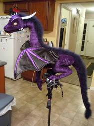 Oriana, Robotic Dragon by TheArtsyAxolotl
