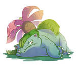 Favorite Poison Type: Venusaur