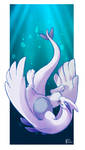 Favorite Psychic Type: Lugia