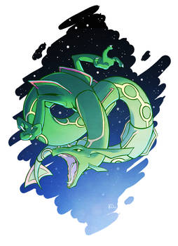 Favorite Dragon Type: Rayquaza