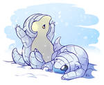 Favorite Ice Type: Alolan Sandshrew