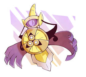 Favorite Steel Type: Aegislash by TheArtsyAxolotl