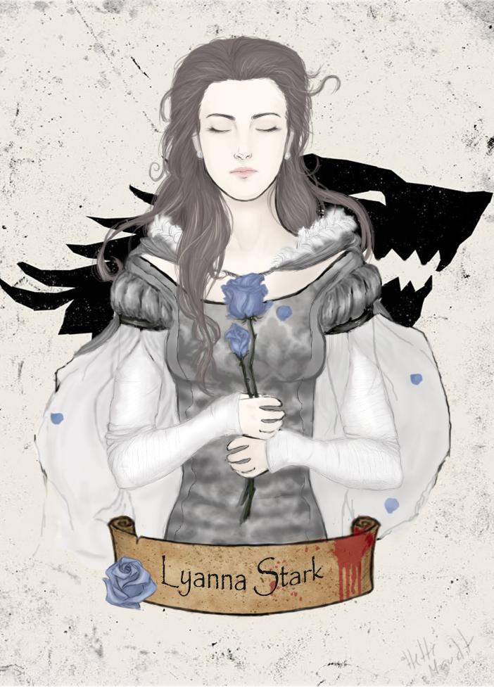 Asoiaf - Lyanna Stark: Queen of Love and Beauty by HetteMaudit