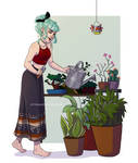 Take care of our plants