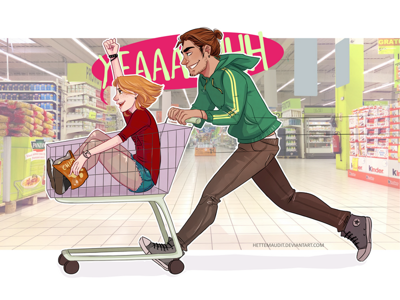 Shopping by HetteMaudit