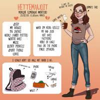 Meet the artist by HetteMaudit