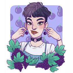 Tutti Frutti Girls: Grape by HetteMaudit