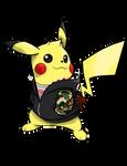 Commissioned Sketch - SUPREME brand Pikachu