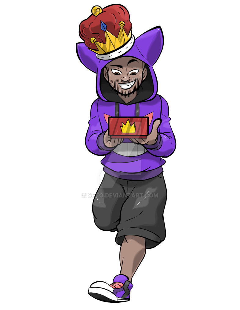 Commissioned Sketch Thekingnappy By Seto On Deviantart