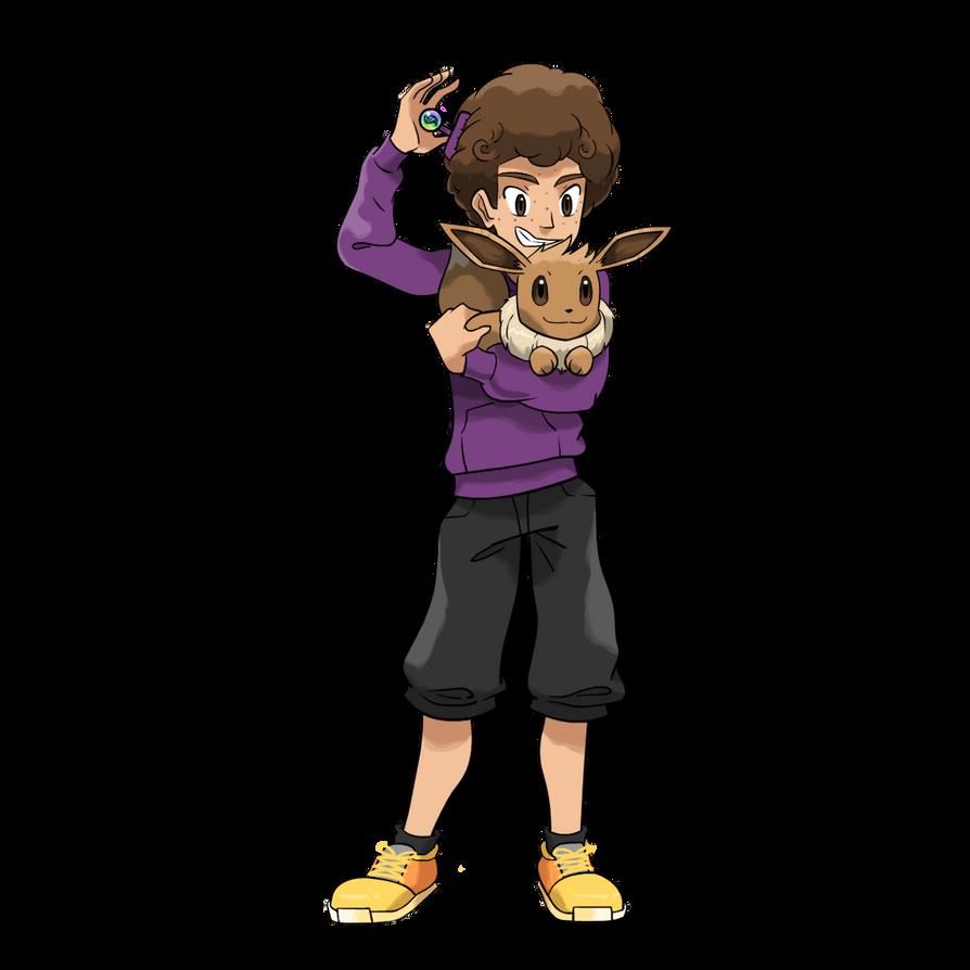 [Criação] NPC's para as Routes do RPG 2.0 Comm___eeveeman10_pokemon_trainer_by_seto-da2i2qu