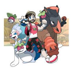 COMM - Pokemon Trainer Jon by seto