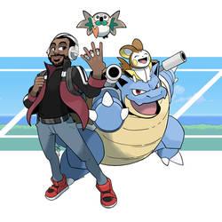 COMM - Data Dave Pokemon Trainer by seto