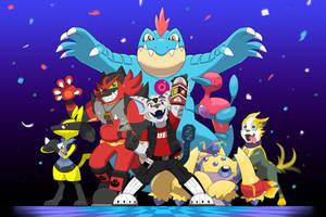 Pokemon Team Commission - Hall of Fame