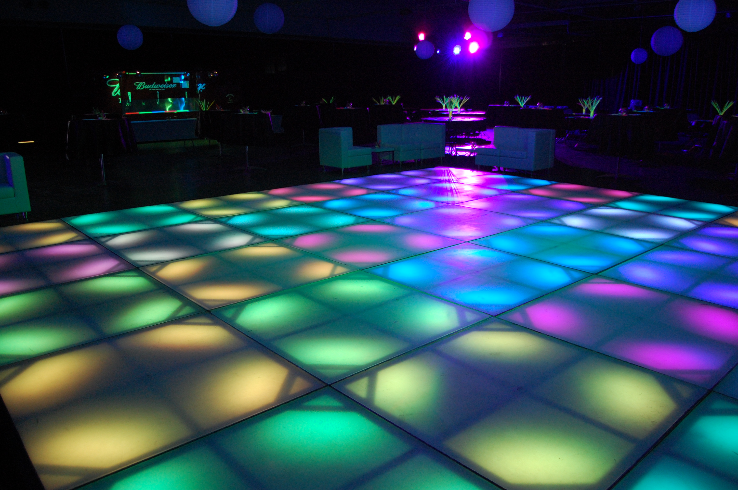 Led Light Up Dance Floor By Winampers