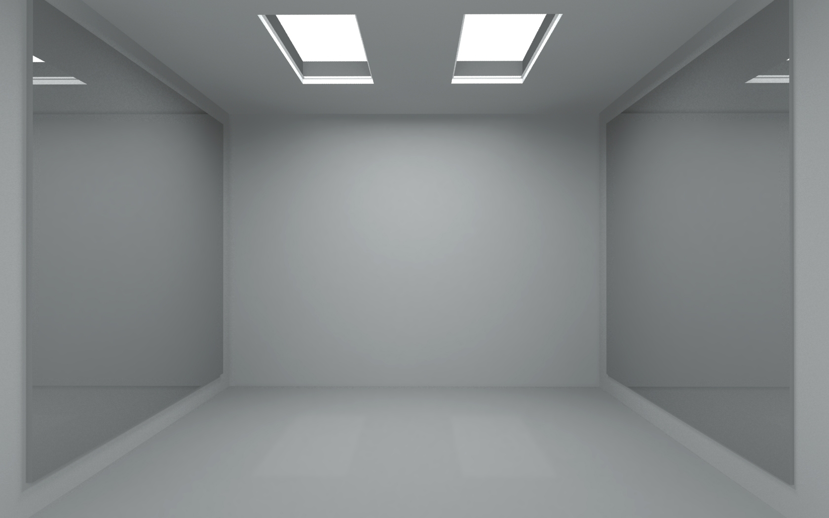 Minimalistic mirror room empty by winampers pro on deviantart for Wallpaper room 3d