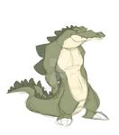 Meanie-Weanie Gator Thing