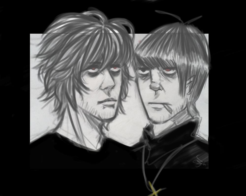 Two gross bastards by Alexxh