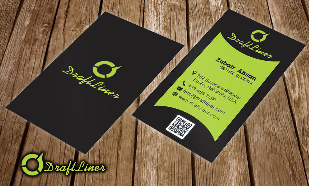 Creative Simple Corporate Unique Business Card PSD by Zubairahsan14 ...