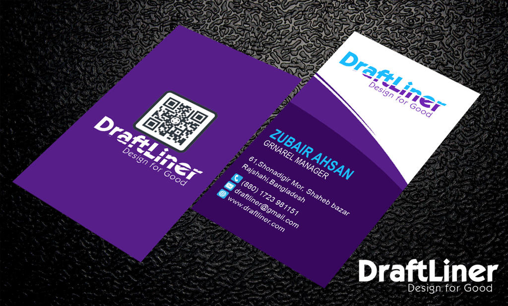 Unique Design Corporate Business Card PSD Template by Zubairahsan14 ...