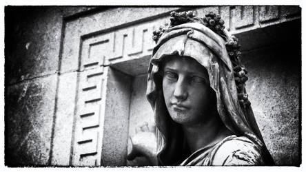 Cemetery Statue II by LumenDonas