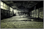 abandoned paper mill