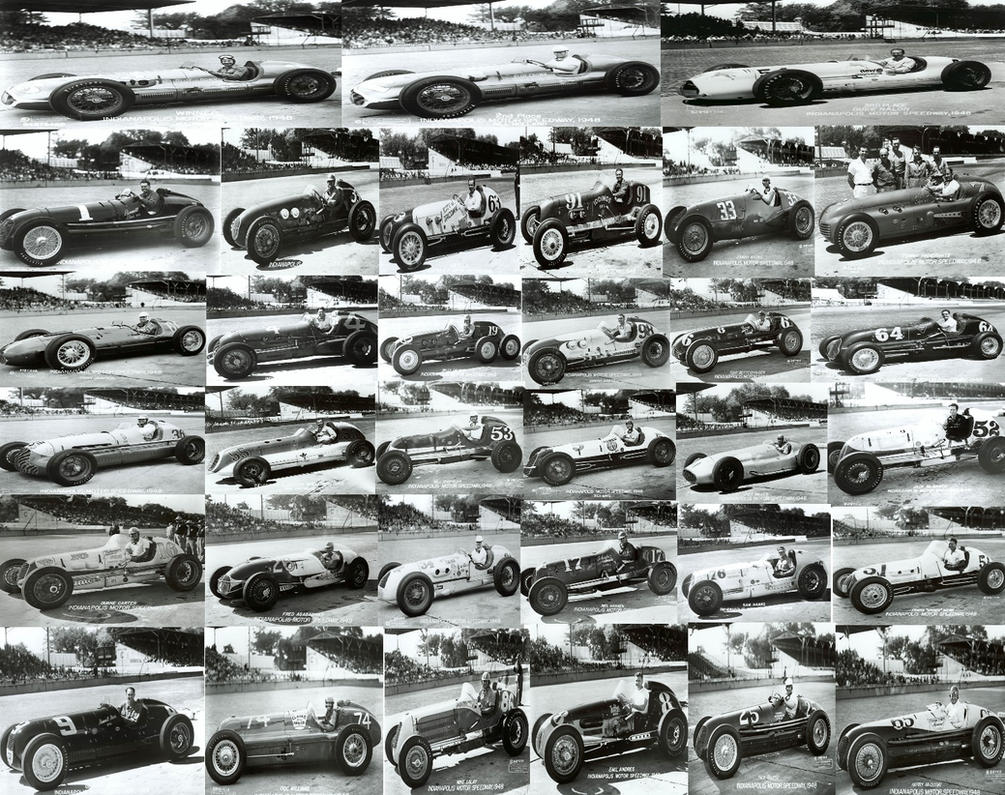 The 1948 Indy 500 Field by GoodCaptainClack