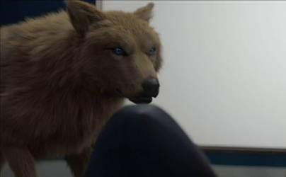 another image of the female werewolf from bitten