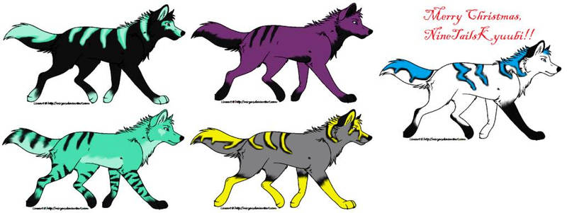 wolves designed for my old account