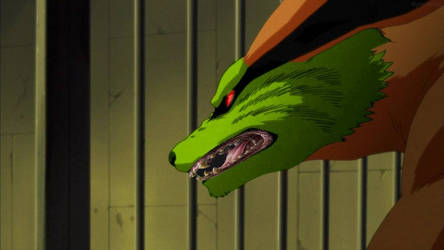 kurama with the loki mask evil