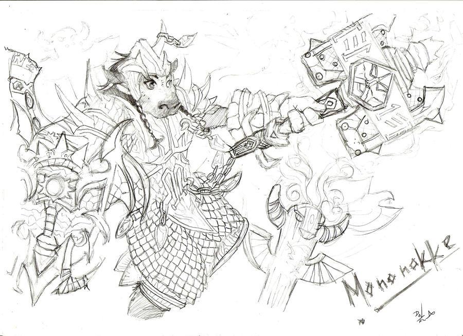 Mononokke The Shaman by Saria48