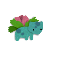 002 Ivysaur by Saria48