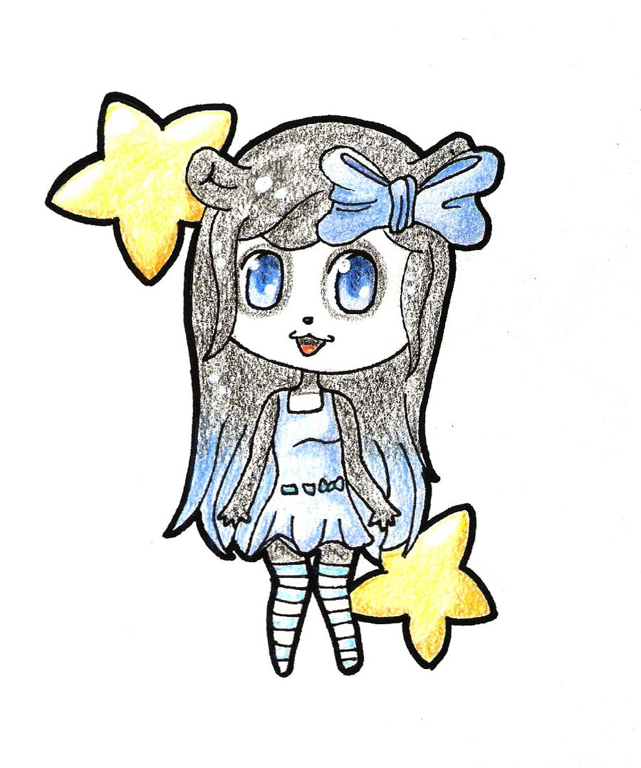 Pencil Colored Pandora by Saria48