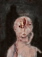 Painting Ghosts 9 (Living Pain) by TheDreadfulPencil