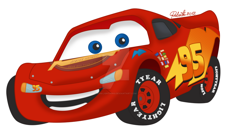 Cars  Mcqueen Angry