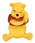 Winnie The Pooh - colored
