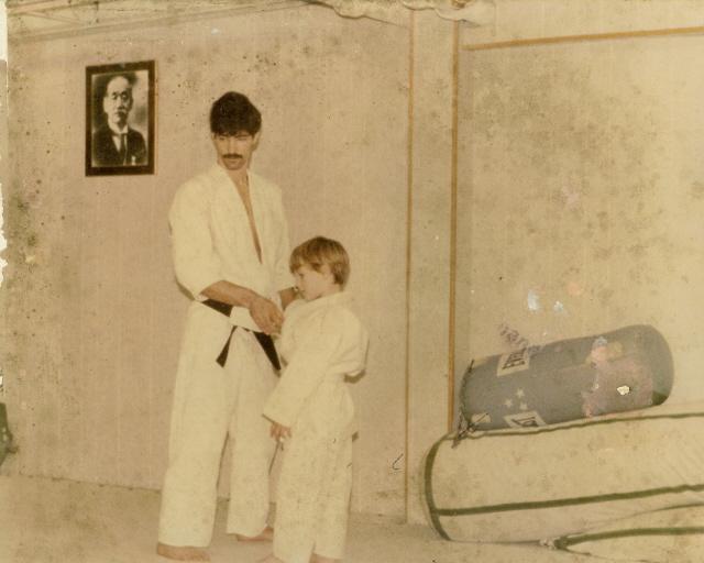 My Childrens Judo Class