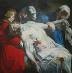 Rubens - The Entombment