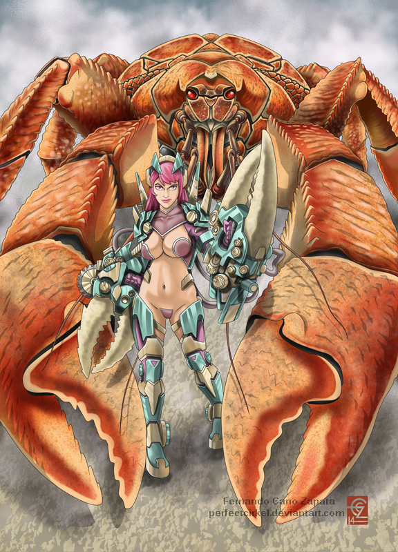 Giant Crab - Beauty and the Myth by PerfectCirkel