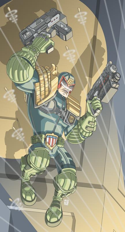 Judge Dredd by PerfectCirkel