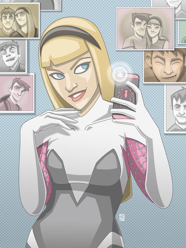 Gwen Selfie by PerfectCirkel