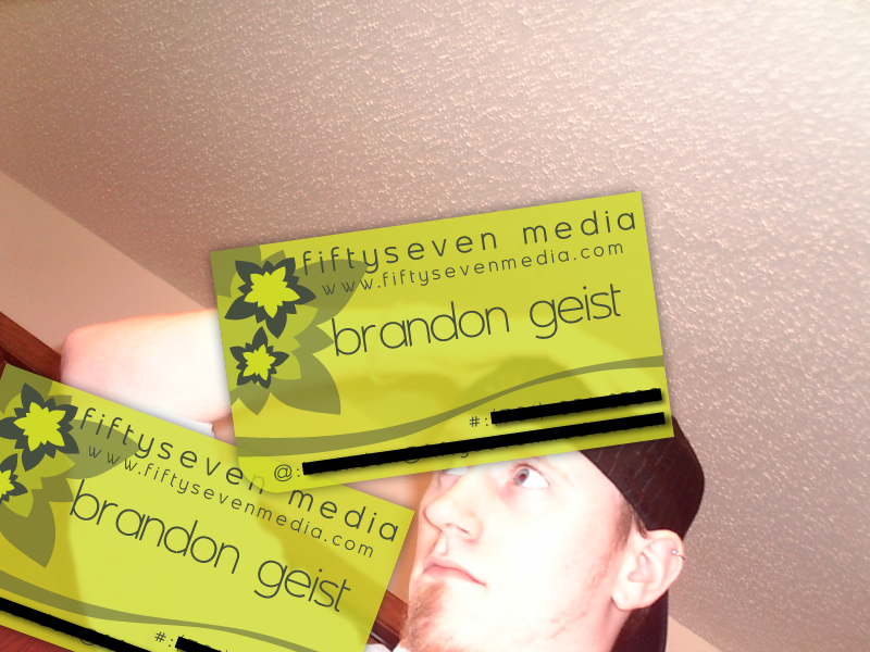 FiftySeven Media Business Card