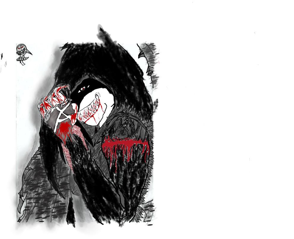 Grim- Dark Spirit Digital Edit by Shatter34g