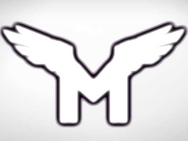 m logo wings